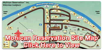 Mohican Reservation Site Map PDF