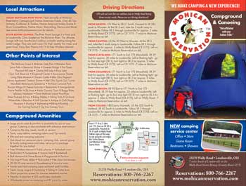 Mohican Reservation Brochure
